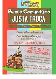 Inauguración JUSTA TROCA