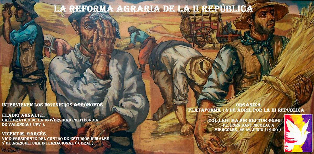 La Reforma Agraria durante la II República Española