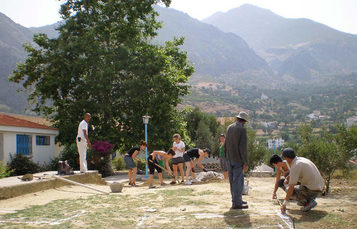 Formación en terreno: Campo de capacitación en Marruecos