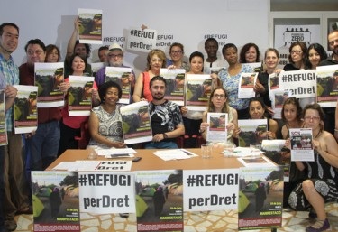 Más de 60 organizaciones valencianas convocan movilizaciones en defensa del derecho de refugio