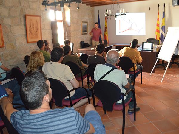 La mejora de la fertilidad del suelo como clave para el impulso del cultivo ecológico en el Bajo Aragón