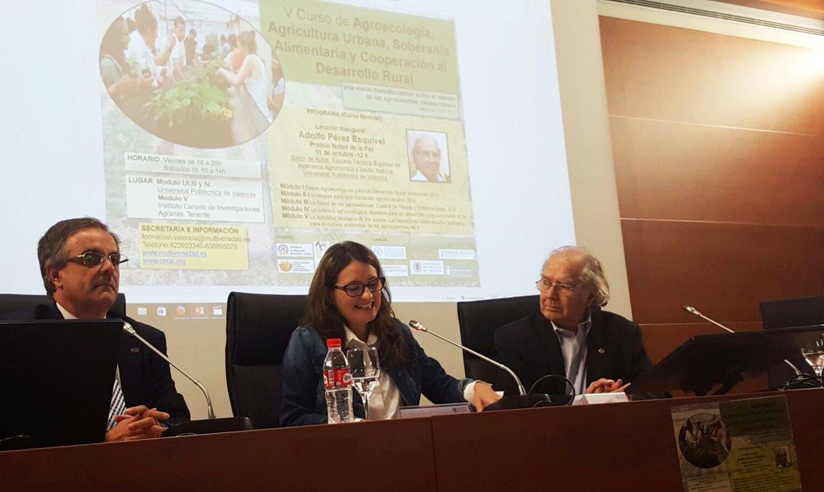 Se inauguraron los cursos de Agroecología en Madrid, Tenerife y Valencia