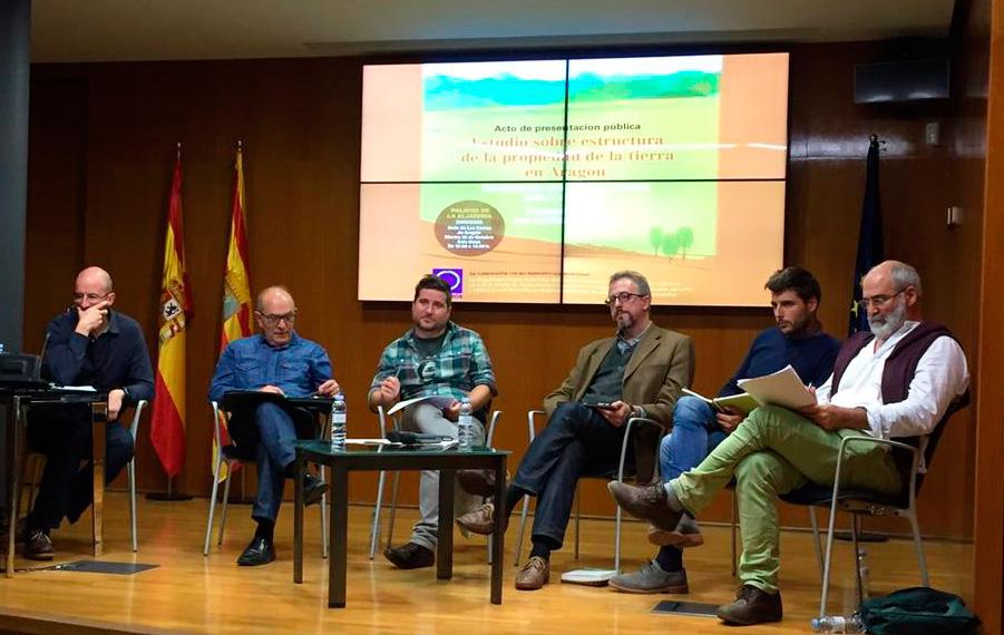 CERAI participa en la presentación del Estudio sobre la estructura de la propiedad de la tierra en Aragón