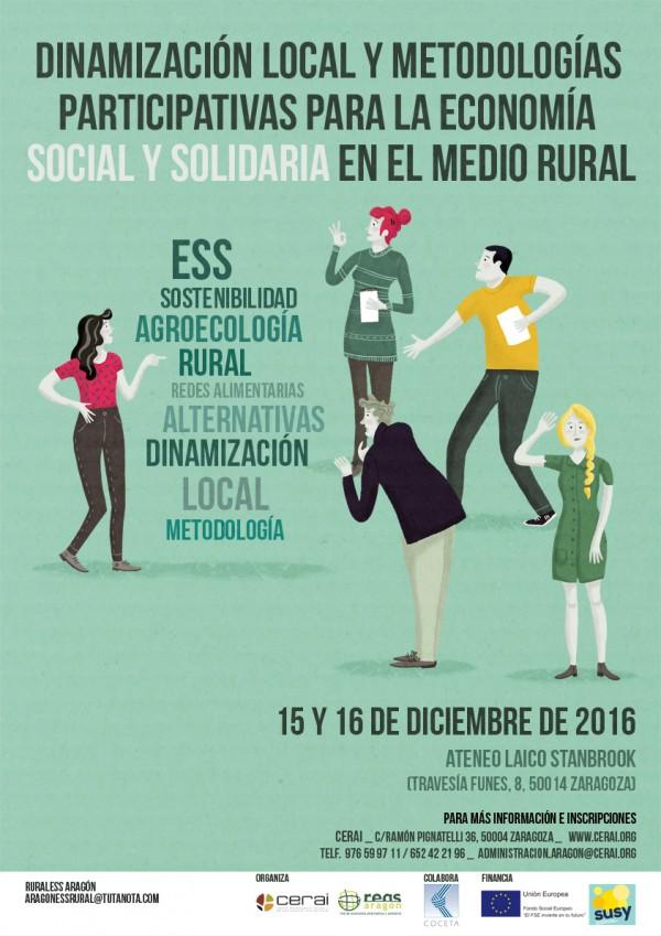 Dinamización local y metodologías participativas para la Economía Social y Solidaria en el medio rural