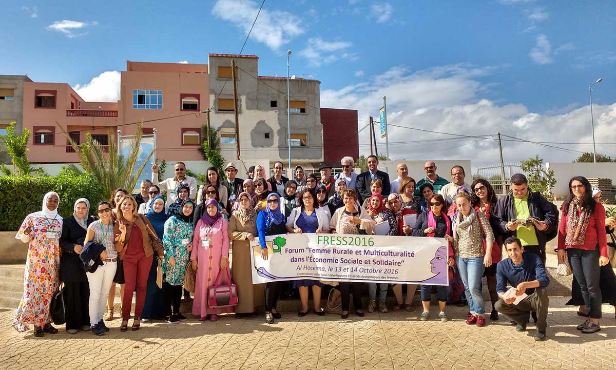 Marruecos acoge con un alto nivel de participación un foro sobre Mujer Rural y Economía Social y Solidaria