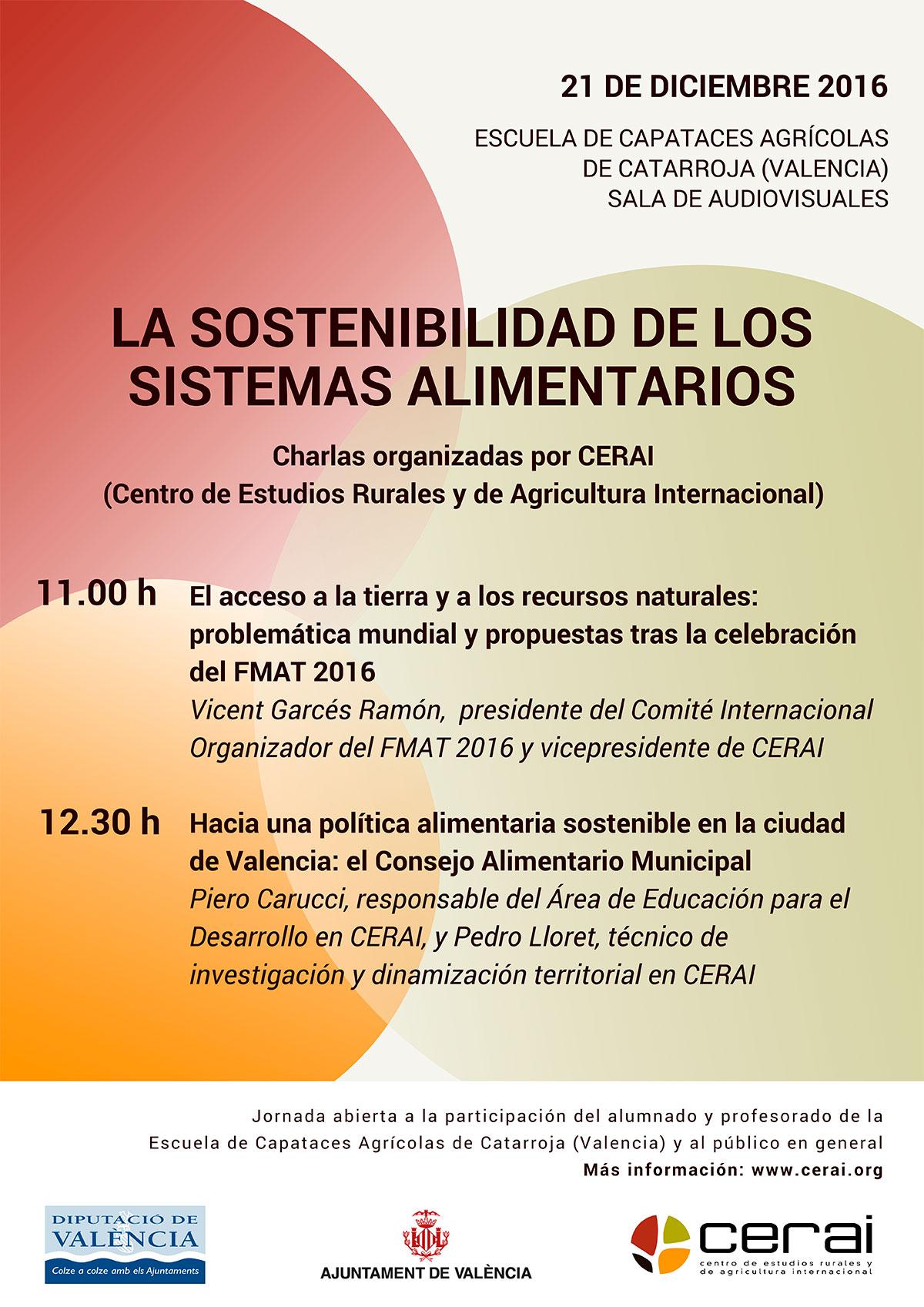La sostenibilidad de los sistemas alimentarios