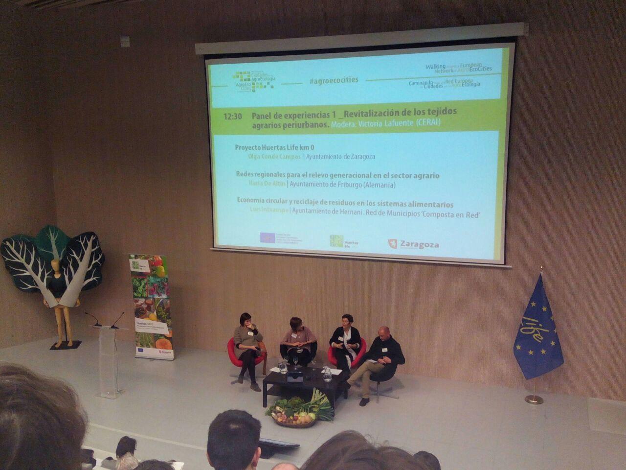 CERAI, presente en las jornadas hacia una Red Europea de Ciudades por la Agroecología