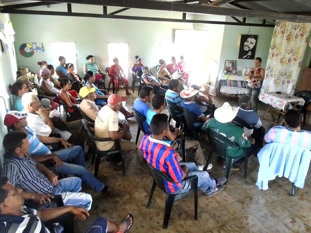 CERAI sigue desarrollando el cooperativismo en Niquero (Cuba)