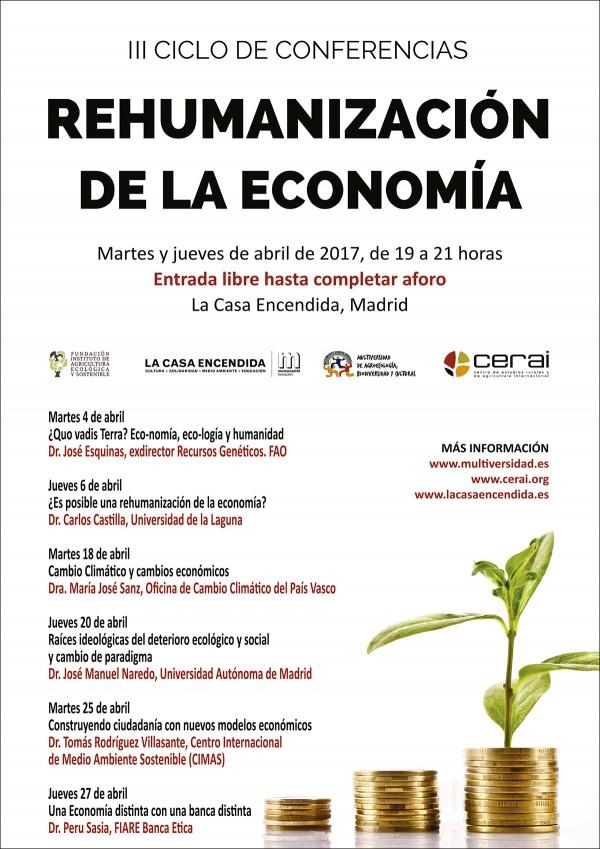 III Ciclo de Conferencias por una Rehumanización de la Economía