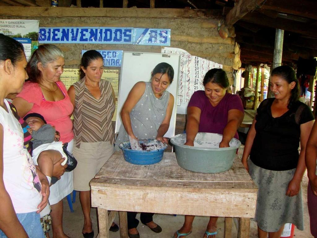 tratamiento artesanal semillas El Salvador