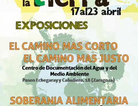 Expo CCC Zaragoza Semana Lucha por la Tierra