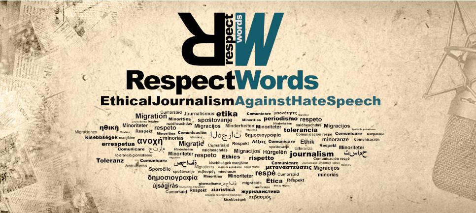 Contra el discurso de odio en los medios de comunicación surge la iniciativa RESPECT WORDS