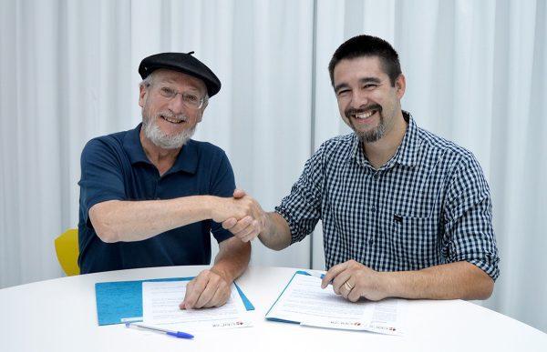 CERAI firma un convenio de colaboración con la agencia creativa Green Side Media Project