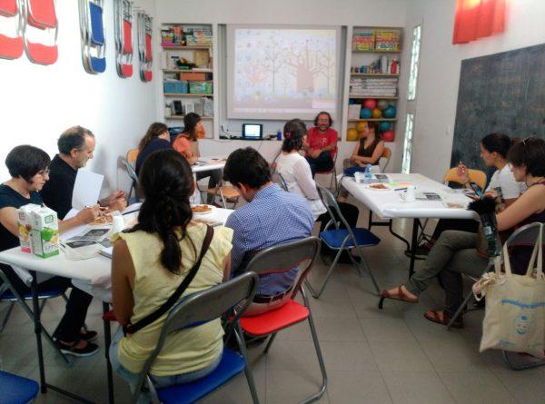 Taller en Vallecas (Madrid) sobre los Objetivos de Desarrollo Sostenible