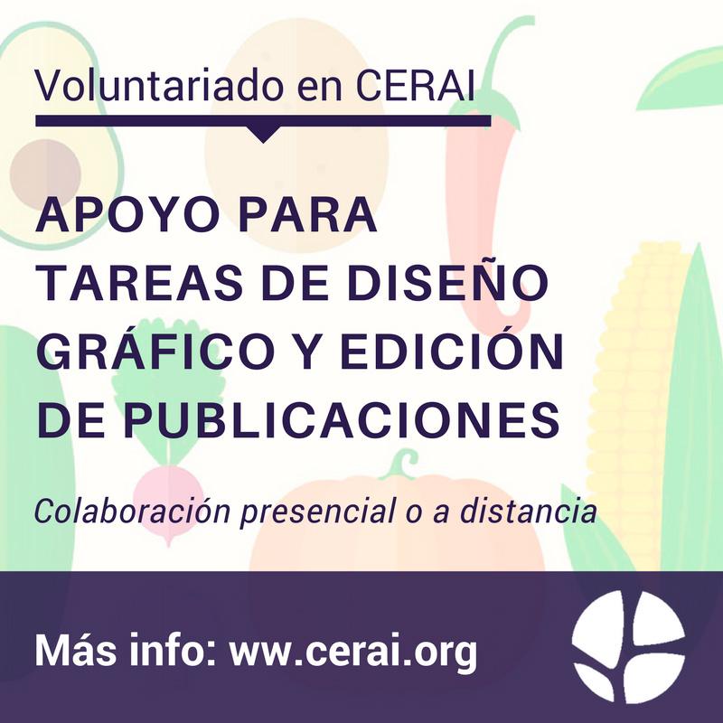 Voluntariado en CERAI para la realización de tareas de diseño ...