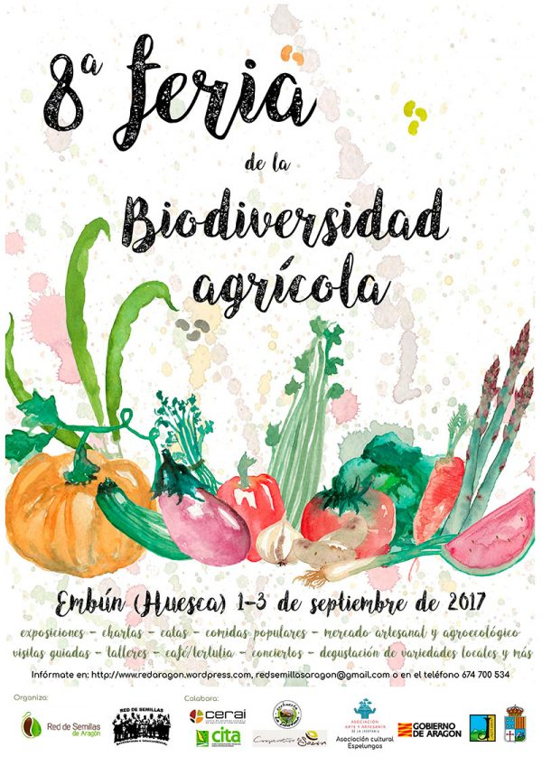 VIII Feria de la Biodiversidad Agrícola de Aragón