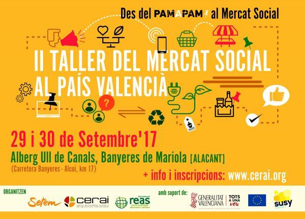 Des del Pam a Pam al Mercat Social: II Taller del Mercat Social al País Valencià