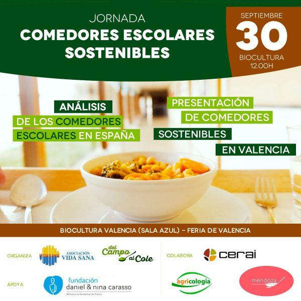 Jornada sobre Comedores Escolares Sostenibles en BioCultura Valencia