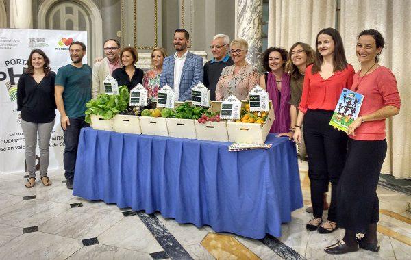 Valencia promociona la producción agroalimentaria de proximidad a través de la etiqueta Aphorta