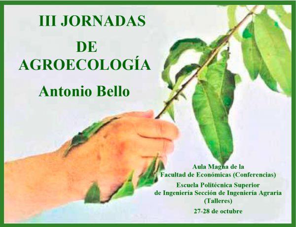 III Jornadas de Agroecología 'Antonio Bello'