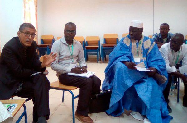 Participamos en un taller nacional sobre las Directrices Voluntarias en Mauritania