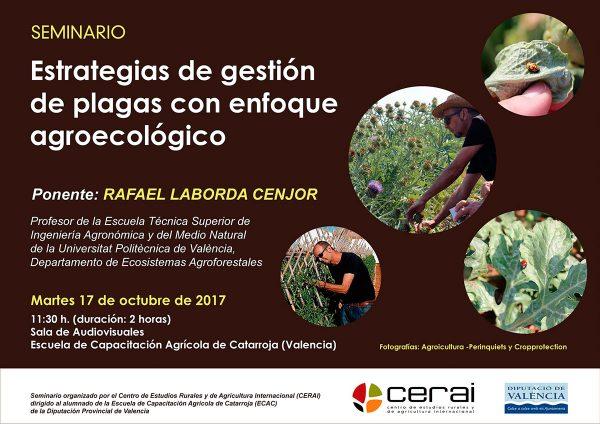 Seminario sobre estrategias de gestión de plagas con enfoque agroecológico