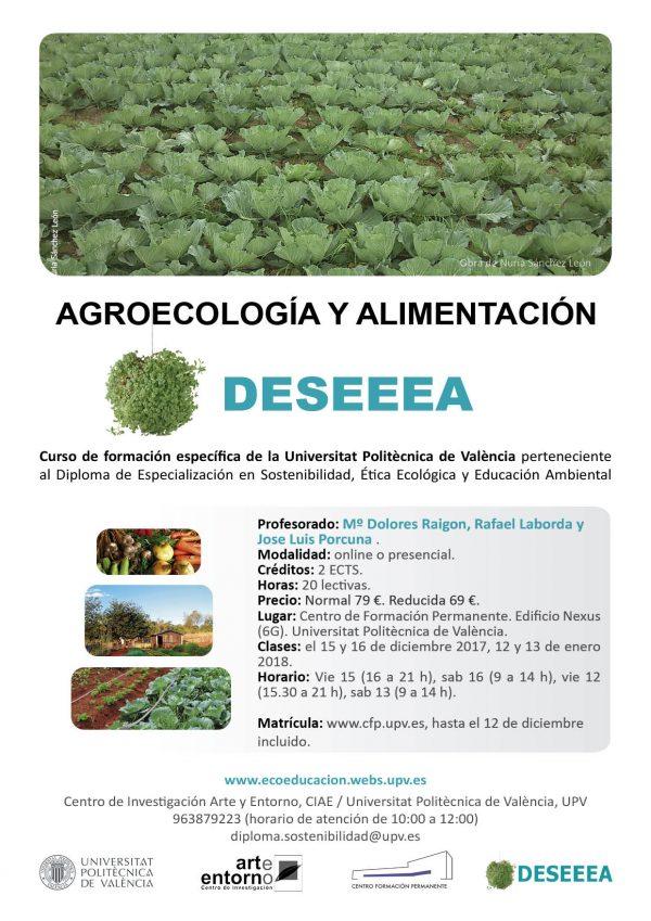 Agroecología y alimentación: diploma DESEEEA