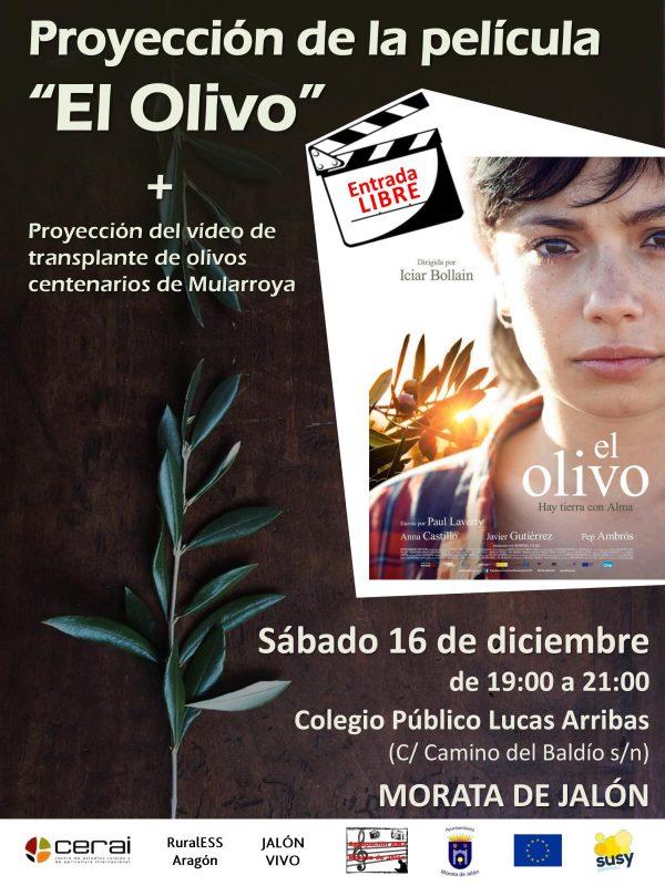 """Proyección de """"El Olivo"""", en Morata de Jalón (Zaragoza)"""