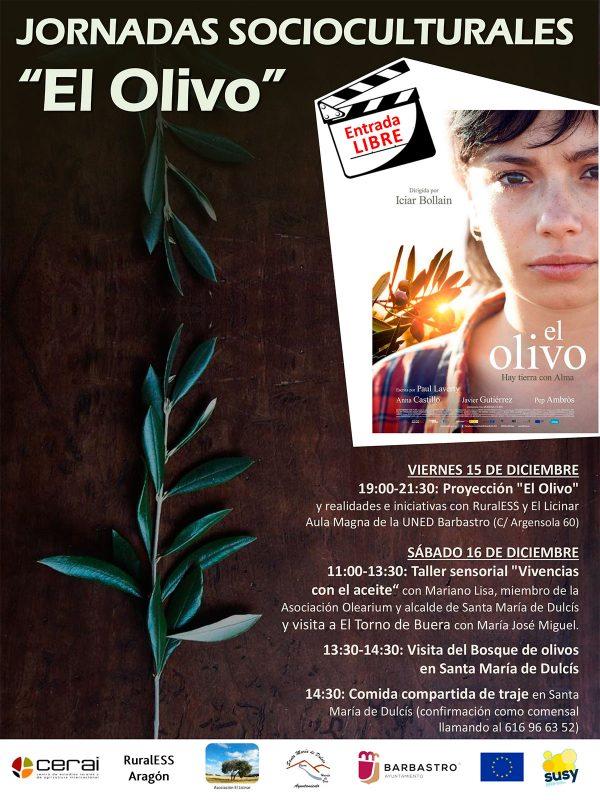 """Jornadas socioculturales """"El Olivo"""", en Somontano (Huesca)"""