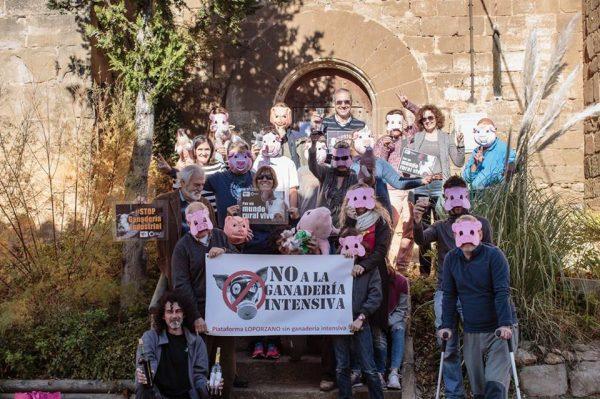Trasladamos nuestro apoyo a la plataforma Loporzano sin Ganadería Intensiva