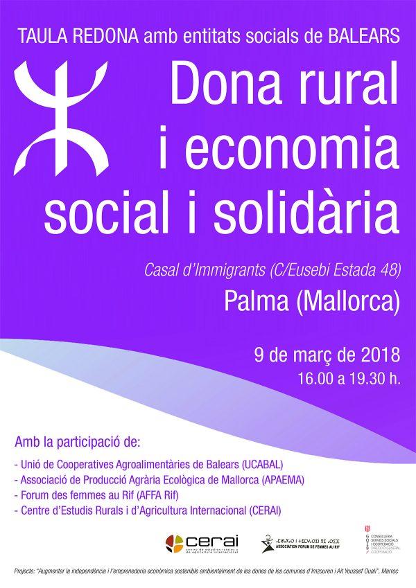 Mesa redonda sobre Mujer Rural y Economía Social y Solidaria