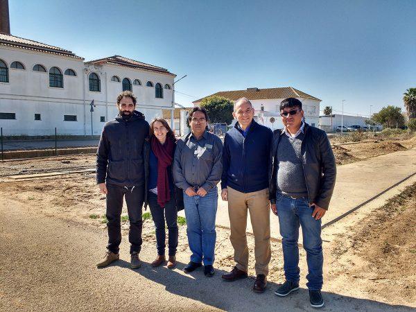 Visita de nuestra contraparte en Bolivia, CIPCA, a Zaragoza, Valencia y Córdoba