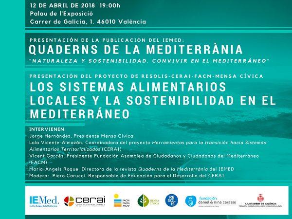 Los sistemas alimentarios locales y la sostenibilidad en el mediterráneo