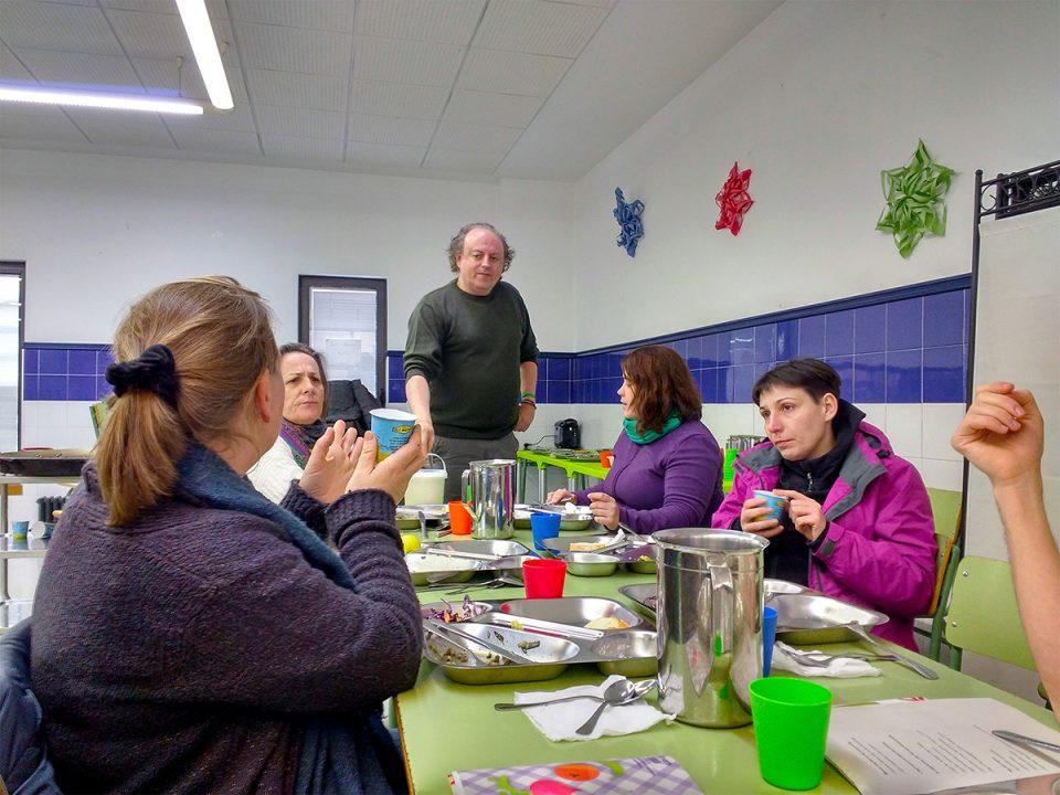 Los comedores escolares sostenibles de Valencia muestran su ...