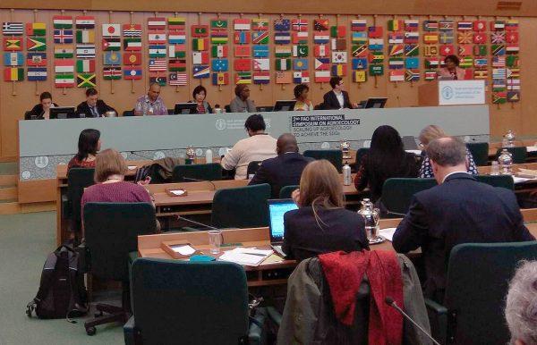 CERAI participa en el 2º Simposio Internacional sobre Agroecología que se celebra en Roma