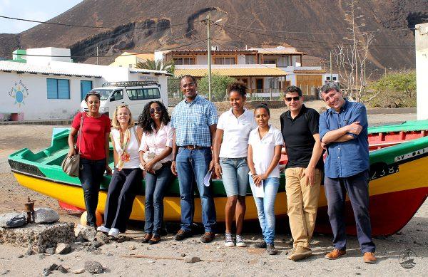 Una delegación de la Unión Europea visita el proyecto de turismo solidario de CERAI en Cabo Verde