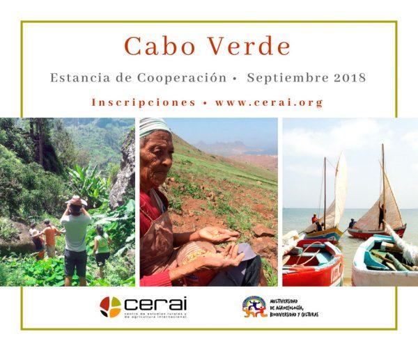 Estancia de Cooperación en Cabo Verde 2018