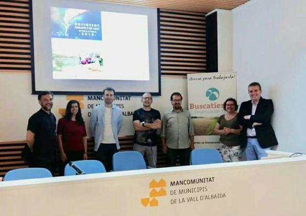 Los bancos de tierras de Valencia intercambian experiencias en una jornada celebrada en Ontinyent