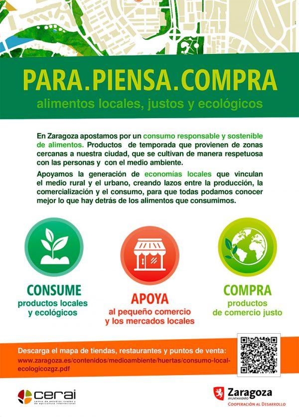 Presentamos el mapa de tiendas, restaurantes y puntos de venta sostenibles en Zaragoza