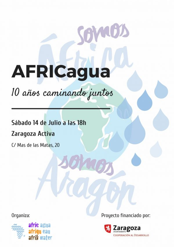 Jornada AFRICagua: 10 años caminando juntos