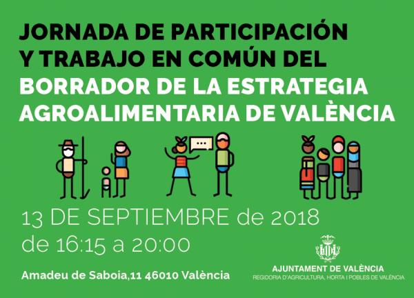 Jornada sobre el borrador de la Estrategia Agroalimentaria de Valencia