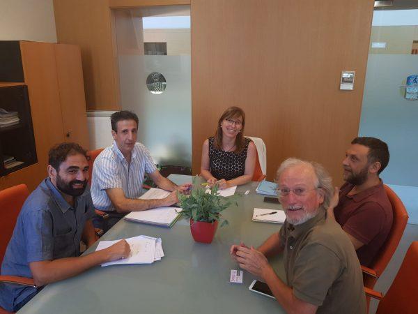 Reunión con la Directora General de Desarrollo Rural de la Generalitat Valenciana