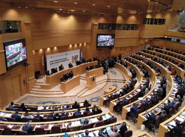 Asistimos a la Cumbre Parlamentaria contra el Hambre y la Malnutrición