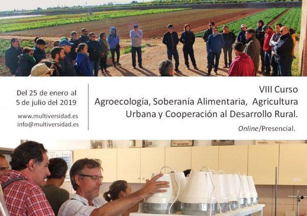 VIII Curso de Agroecología y Soberanía Alimentaria