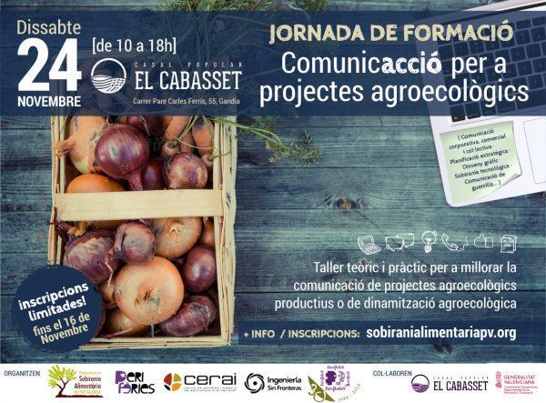 Jornada de formación: ComunicAcción para proyectos agroecológicos