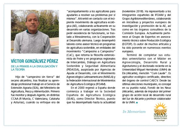Condolencias por el fallecimiento del Director Técnico de la SEAE, Víctor Gonzálvez