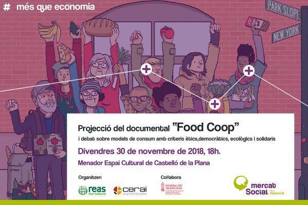 """Proyección - Debate sobre el documental """"Food Coop"""""""