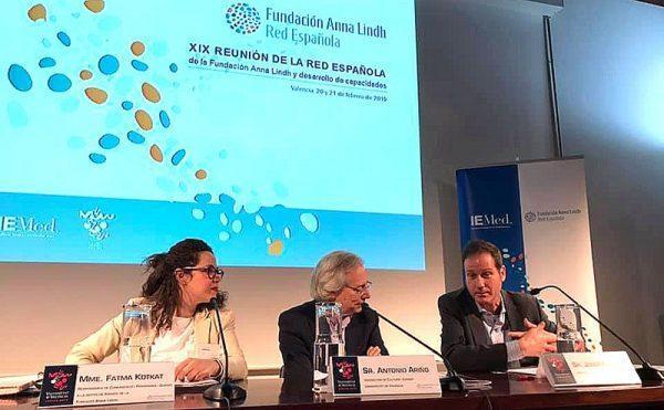 Participamos en la reunión anual de la Red Española de la Fundación Anna Lindh