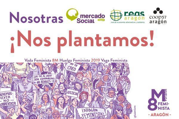 Comunicado de la Economía Social y Solidaria de Aragón ante el 8M