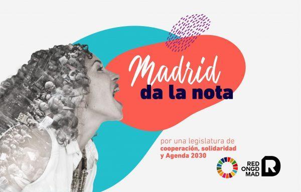 La Red de ONGD de Madrid lanza 7 propuestas de cara a las próximas elecciones